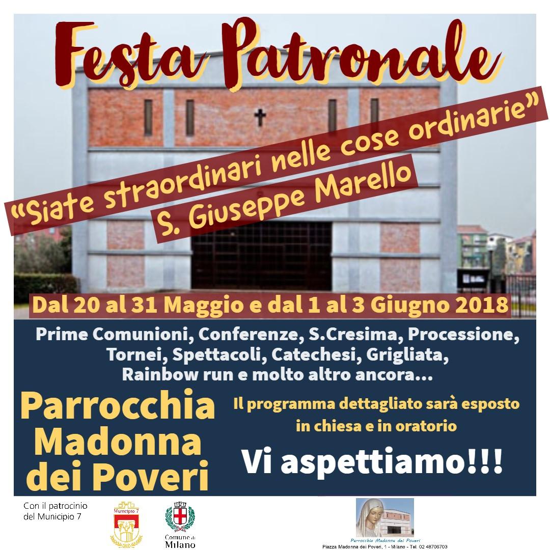 ** FESTA PATRONALE **